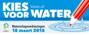Waterschapsverkiezinegn 18 maart